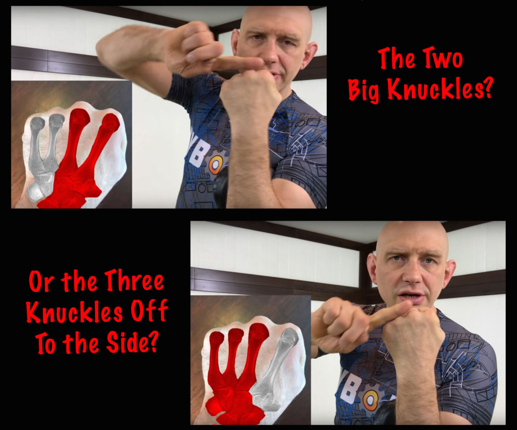 What Knuckles Should You Punch with Barehanded?