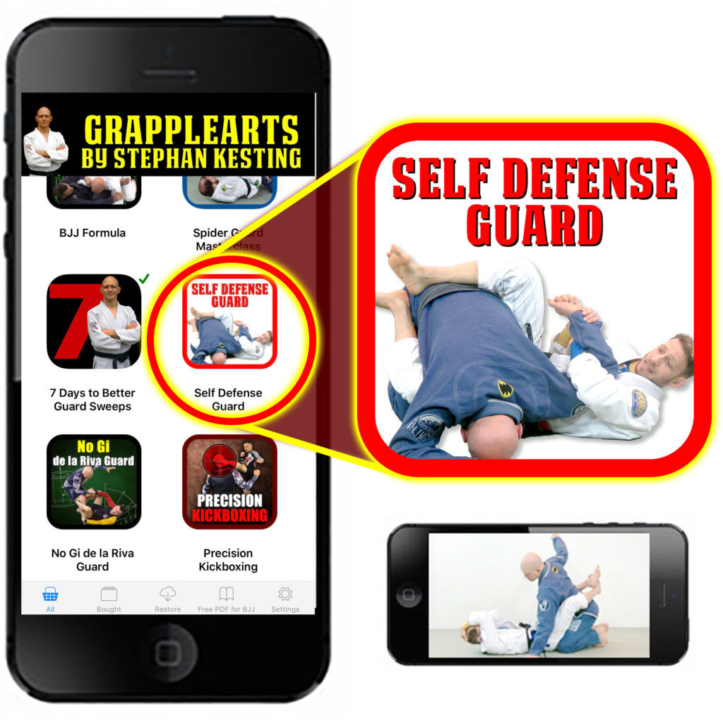 The Self Defense Guard in an iPhone