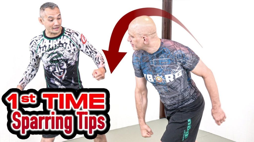 How to Spar in Kickboxing for the First Time
